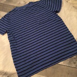 Men's J Crew blue t shirt size medium